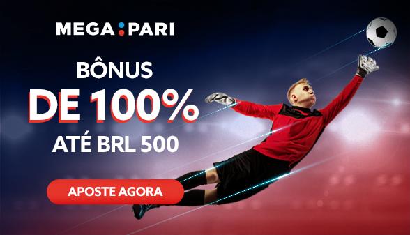 Receba um bônus de 100% até R$ 500 com seu primeiro depósito na Megapari!
