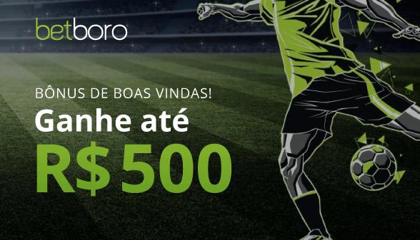 Bonus de Boas Vindas até R$ 500